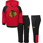 NHL Toddler Chicago Blackhawks Dasher Fleece Set