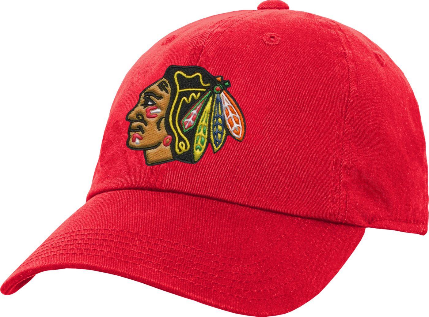 NHL Youth Chicago Blackhawks Basic Adjustable Hat