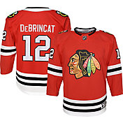 NHL Youth Chicago Blackhawks Alex DeBrincat #12 Premier Home Jersey