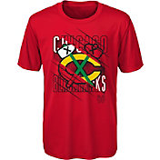 NHL Youth Chicago Blackhawks Underneath Red Performance T-Shirt