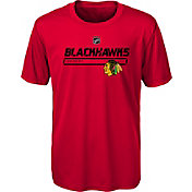 NHL Youth Chicago Blackhawks On Ice Red Performance T-Shirt
