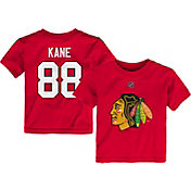 NHL Toddler Chicago Blackhawks Patrick Kane #88 Red Player T-Shirt