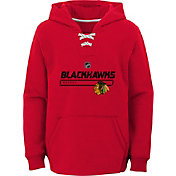 NHL Youth Chicago Blackhawks On Ice Red Pullover Hoodie