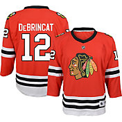 NHL Youth Chicago Blackhawks Alex DeBrincat #12 Replica Home Jersey