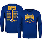 NHL Youth 2019 NHL Western Conference Champions St. Louis Blues Roster Long Sleeve Shirt