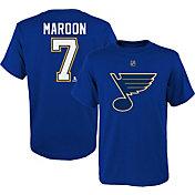 NHL Youth St. Louis Blues Patrick Maroon #7 Royal Player T-Shirt