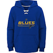 NHL Youth St. Louis Blues On Ice Royal Pullover Hoodie