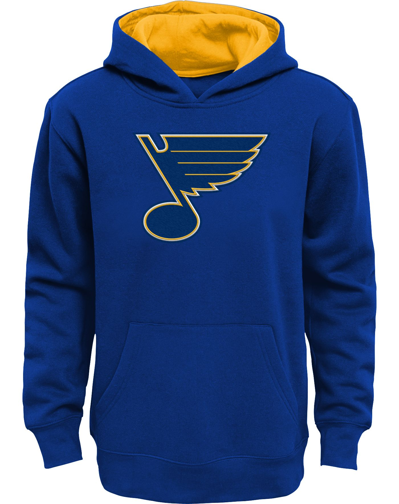 NHL Youth St. Louis Blues Prime Fleece Royal Pullover Hoodie