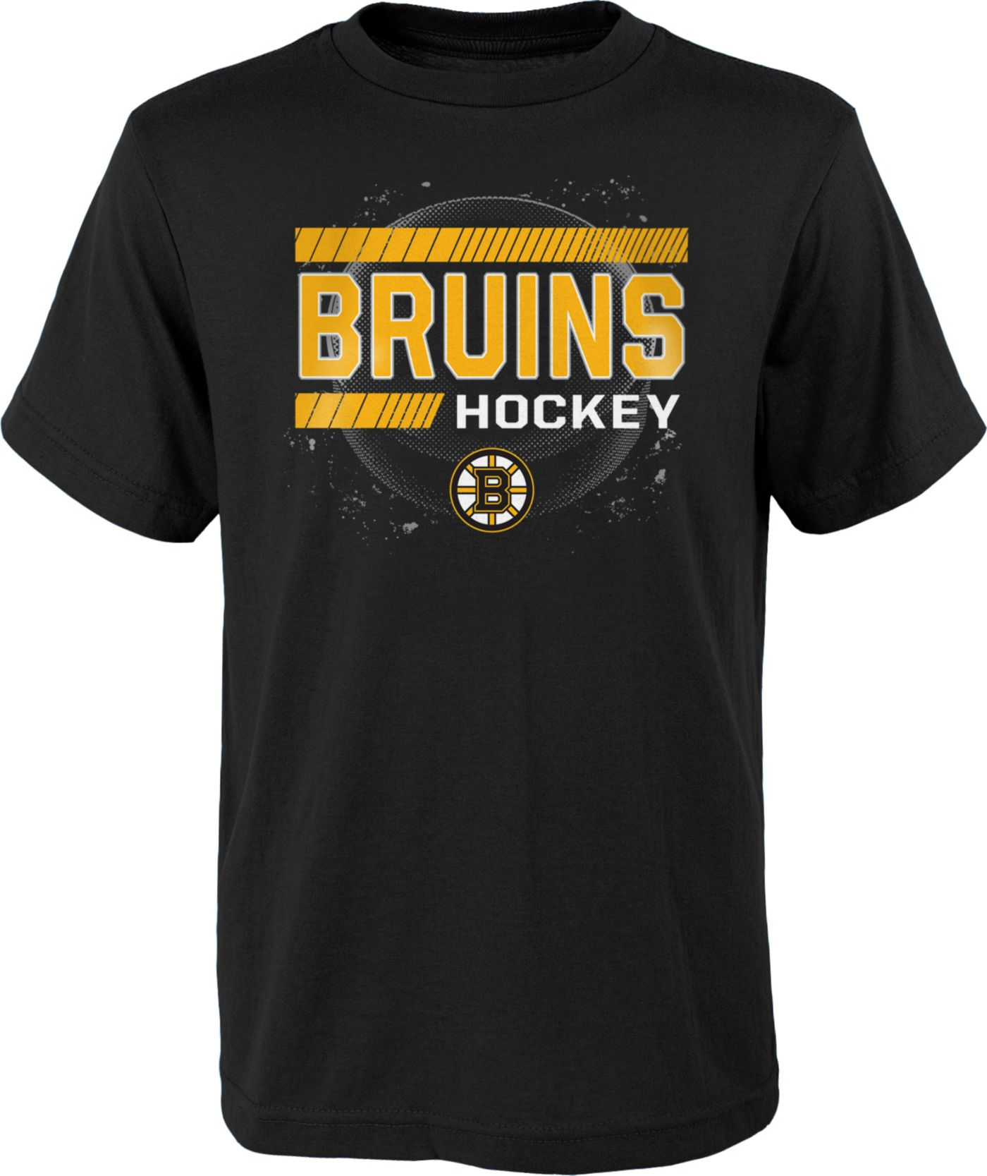NHL Youth Boston Bruins The Zone Black T-Shirt