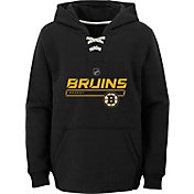 NHL Youth Boston Bruins On Ice Black Pullover Hoodie