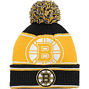 NHL Youth Boston Bruins Grind Cuff Pom Knit Beanie
