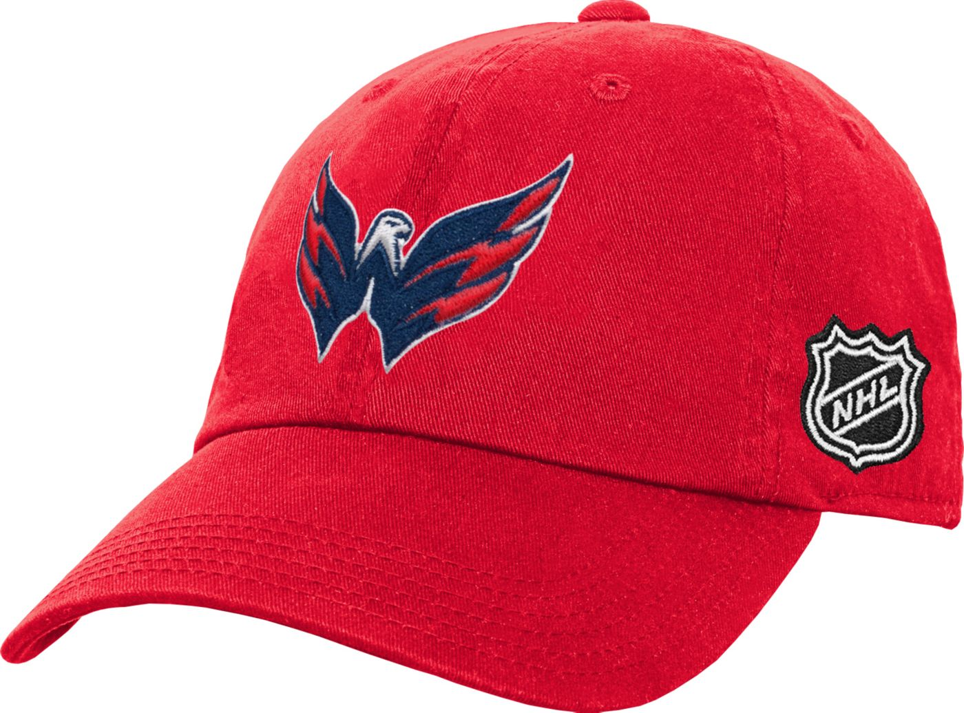 NHL Youth Washington Capitals Basic Adjustable Hat