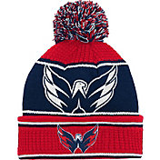 NHL Youth Washington Capitals Grind Cuff Pom Knit Beanie