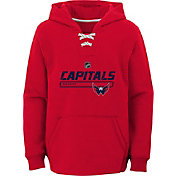 NHL Youth Washington Capitals On Ice Red Pullover Hoodie