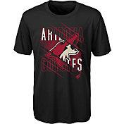 NHL Youth Arizona Coyotes Underneath Black Performance T-Shirt