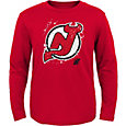 NHL Youth New Jersey Devils Decon Red Long Sleeve Shirt