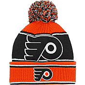 NHL Youth Philadelphia Flyers Grind Cuff Pom Knit Beanie