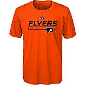 NHL Youth Philadelphia Flyers On Ice Orange Performance T-Shirt