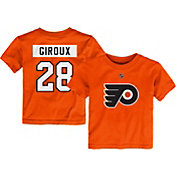 NHL Toddler Philadelphia Flyers Claude Giroux #28 Orange Player T-Shirt