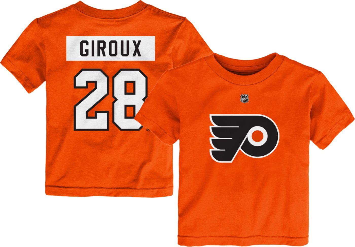 NHL Toddler Philadelphia Flyers Claude Giroux #28 Orange Player T-Shirt