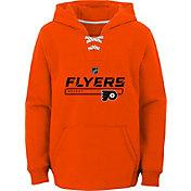 NHL Youth Philadelphia Flyers On Ice Orange Pullover Hoodie