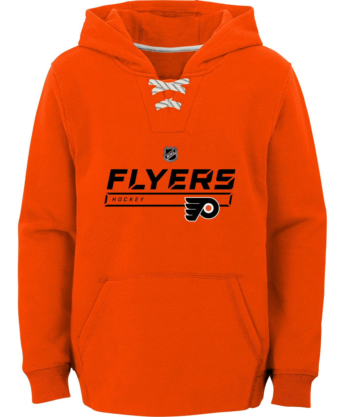 NHL Youth Philadelphia Flyers On Ice Orange Pullover Hoodie