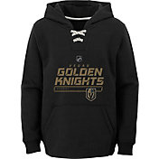 NHL Youth Vegas Golden Knights On Ice Black Pullover Hoodie