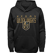 NHL Youth Vegas Golden Knights Pacesetter Black Pullover Hoodie