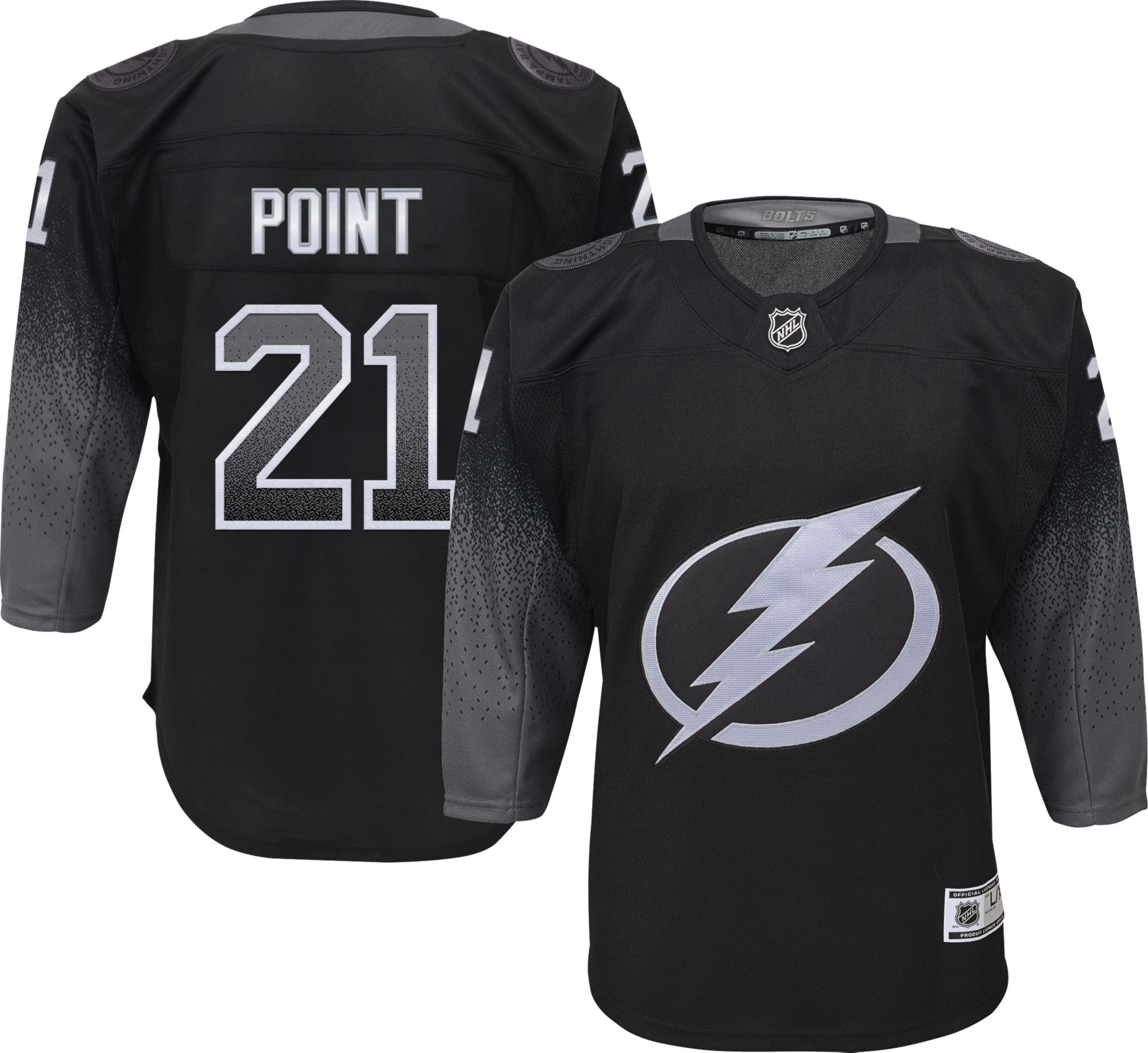 tampa bolts jersey