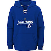 NHL Youth Tampa Bay Lightning On Ice Royal Pullover Hoodie