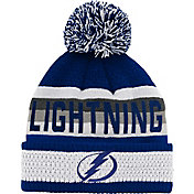 NHL Youth Tampa Bay Lightning Cuff Pom Knit Beanie