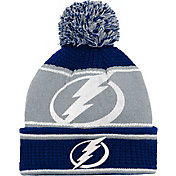 NHL Youth Tampa Bay Lightning Grind Cuff Pom Knit Beanie