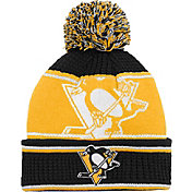 NHL Youth Pittsburgh Penguins Grind Cuff Pom Knit Beanie