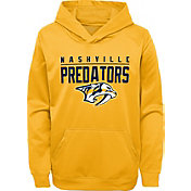 NHL Youth Nashville Predators Pacesetter Gold Pullover Hoodie