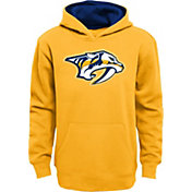 NHL Youth Nashville Predators Prime Fleece Navy Pullover Hoodie