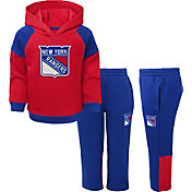 NHL Toddler New York Rangers Dasher Fleece Set