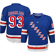 NHL Youth New York Rangers Mika Zibanejad #93 Replica Home Jersey