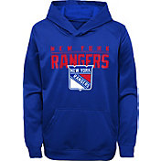 NHL Youth New York Rangers Pacesetter Royal Pullover Hoodie