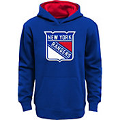 NHL Youth New York Rangers Prime Fleece Royal Pullover Hoodie