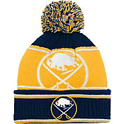 NHL Youth Buffalo Sabres Grind Cuff Pom Knit Beanie