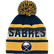 NHL Youth Buffalo Sabres Cuff Pom Knit Beanie