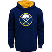 NHL Youth Buffalo Sabres Prime Fleece Navy Pullover Hoodie