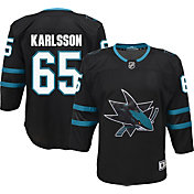 NHL Youth San Jose Sharks Erik Karlsson #65 Premier Alternate Jersey