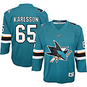 NHL Youth San Jose Sharks Erik Karlsson #65 Replica Home Jersey