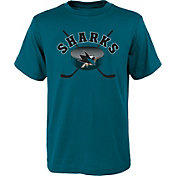 NHL Youth San Jose Sharks Game Teal T-Shirt
