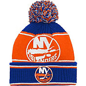 NHL Youth New York Islanders Grind Cuff Pom Knit Beanie
