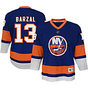 NHL Youth New York Islanders Mathew Barazal #13 Replica Home Jersey
