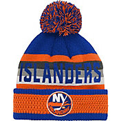 NHL Youth New York Islanders Cuff Pom Knit Beanie