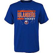NHL Youth New York Islanders The Zone Royal T-Shirt