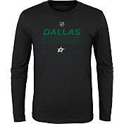 NHL Youth Dallas Stars Prime Stock Navy Long Sleeve Shirt